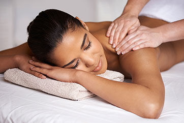 Massage services at Upper West Spa